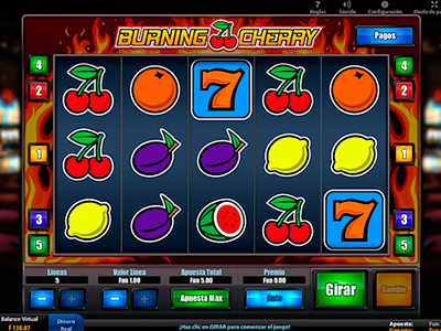 Видеообзор слота Burning Cherry HD